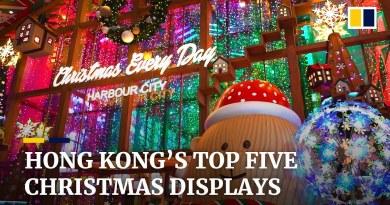 Top five Christmas displays to cheer up Hong Kong despite Covid-19 fourth wave