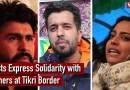 Artists Express Solidarity with Farmers at Tikri Border