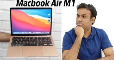 MacBook Air M1 Unboxing Initial Impressions & Editing (Retail Indian Unit)