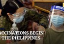 Philippines starts long-delayed Covid-19 vaccination programme using free Chinese Sinovac jabs