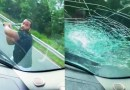 Angry Driver Smashes Windshield of Dad With 2 Sons in Car