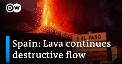 La Palma volcano: More homes destroyed by lava | DW News