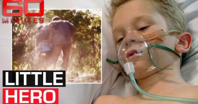 How a little boy fought through agonising pain to save his father's life | 60 Minutes Australia