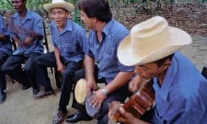 Musical group performing near El Güirito, eastern Cuba.