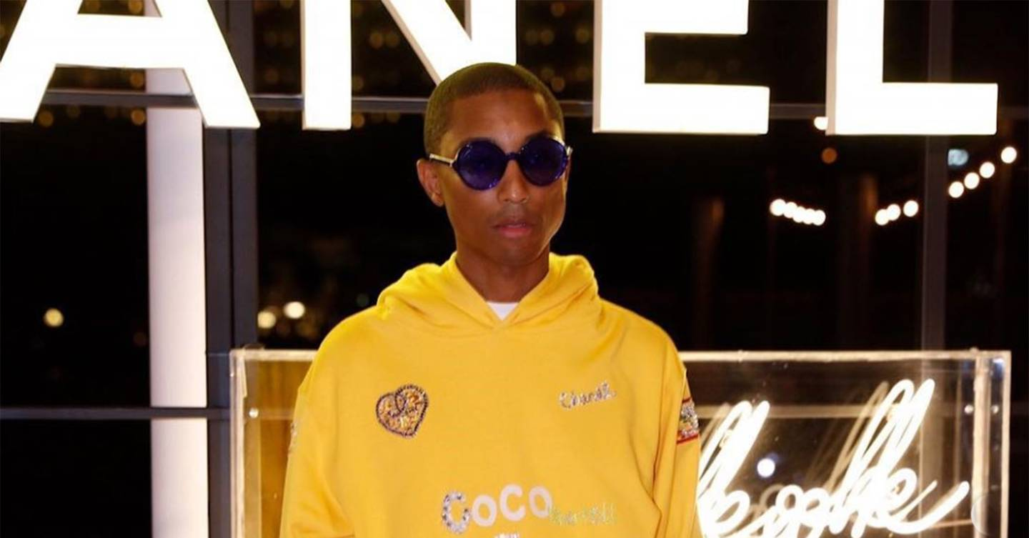 39be758666a67 Pharrell Williams Is Designing A Chanel Capsule Collection - Newscabal