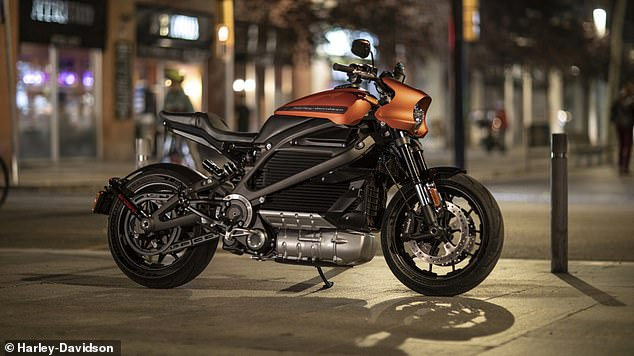 The bike will be controlled through a touchscreen, and have seven different riding modes.