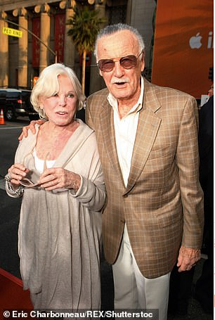 Stan and Joan in 2008