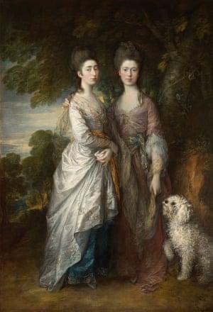 Margaret and Mary Gainsborough by Thomas Gainsborough, c.1770-74.
