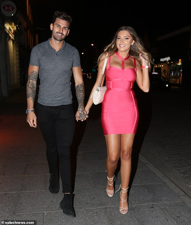 Scary: A source has also claimed that after a furious row Adam has travelled back to Newcastle for a break, and while he and Zara have not split their relationship is at breaking point