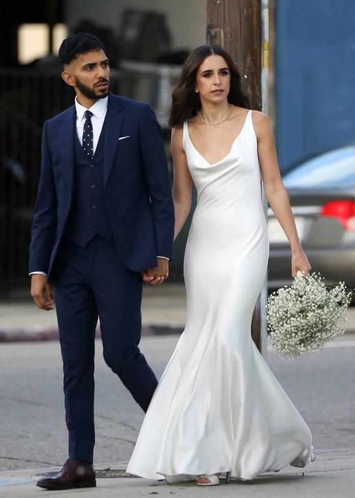Courtney Barry, Sam Lopez, Wedding