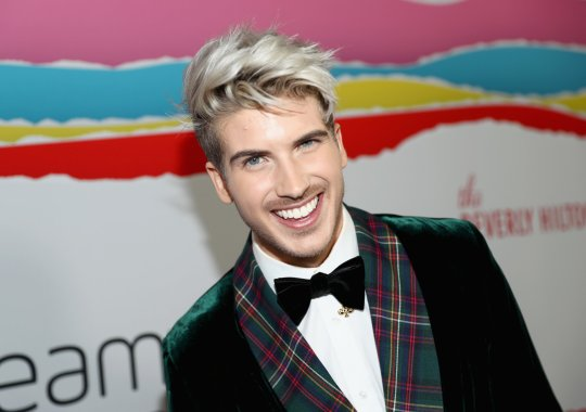 BEVERLY HILLS, CA - OCTOBER 22: Joey Graceffa attends The 8th Annual Streamy Awards at The Beverly Hilton Hotel on October 22, 2018 in Beverly Hills, California. (Photo by Rich Polk/Getty Images for Streamy Awards)