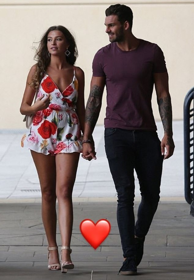 It's over: Adam Collard and Zara McDermott have split after eight months together, a source has exclusively revealed to MailOnline