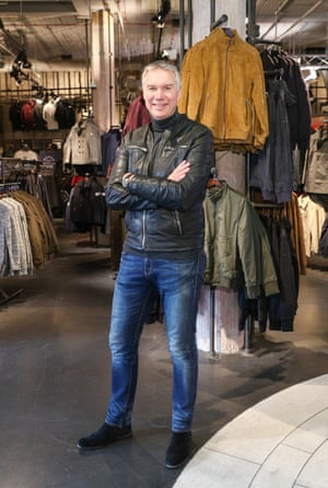 Euan Sutherland at the opening of Superdry Berlin in 2016.