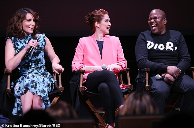 Cast: Burgess' Titus Andromedon is an aspiring actor and singer who becomes Kimmy's roommate, with Kane's Lillian Kaushtupper as her landlord and Krakowski's Jacqueline White Kimmy's first boss