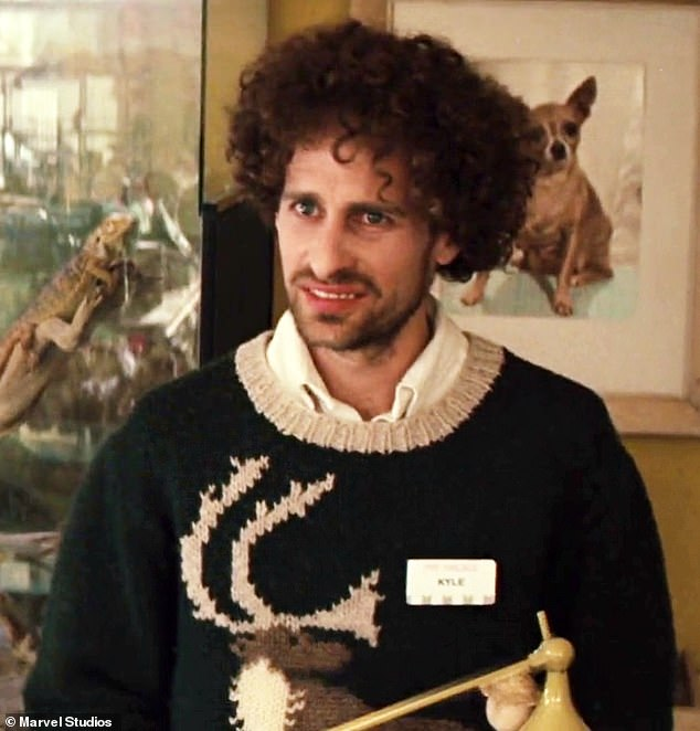 Isaac Kappy is seen here in the 2011 Marvel film Thor, in which he played a pet store clerk called Kyle