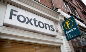 A picture of a Foxtons branch in Hampstead, London.