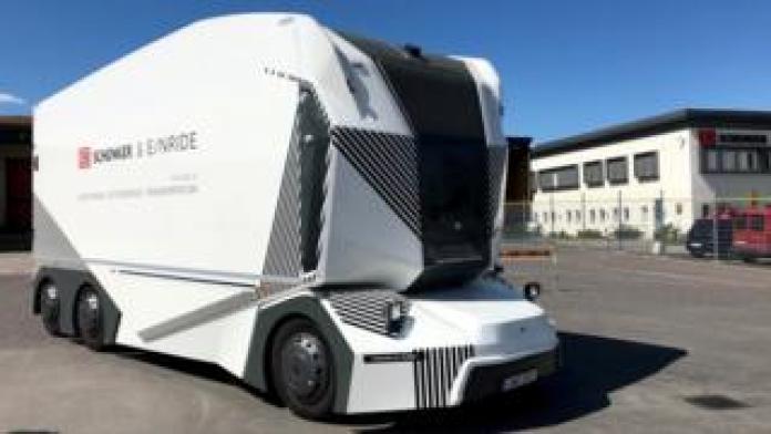 Einride truck