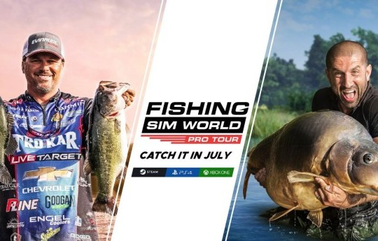 Fishing Sim World: Pro Tour - that's a big fish