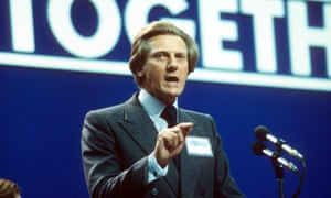 Michael Heseltine at the 1980 party conference.