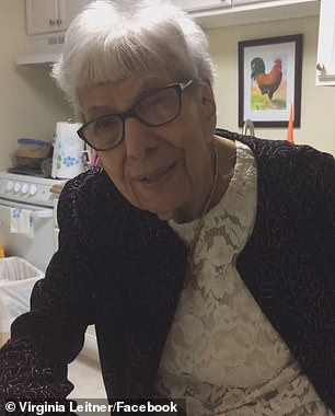Virginia Leitner (pictured) of St Charles, Missouri, celebrated her 104th birthday in February