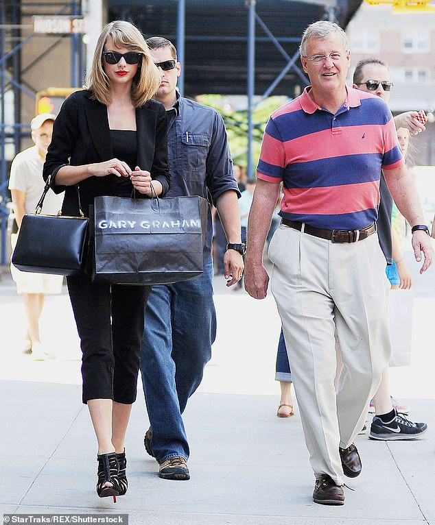 Yael also alleged Taylor's dad Scott, a shareholder in Borchetta's label, did know about the deal and that Borchetta had notified Swift personally about it. Scott and Taylor are pictured in 2014
