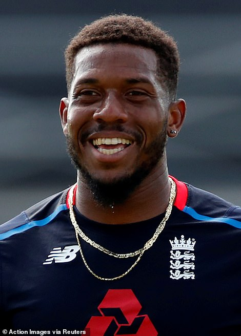Classmate: She also counts Sussex and England fast bowler Chris Jordan as a former classmate