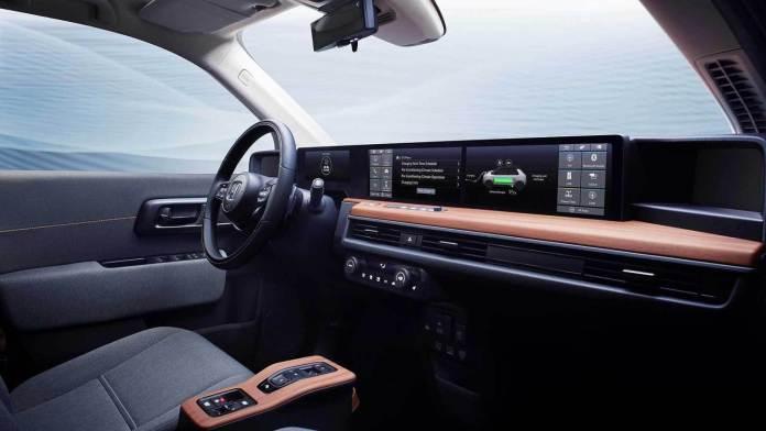 2019 Honda e Prototype interior