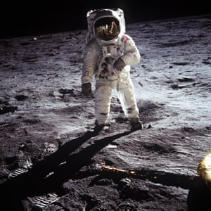 Buzz Aldrin on the moon, 20 July 1969, by Neil Armstrong