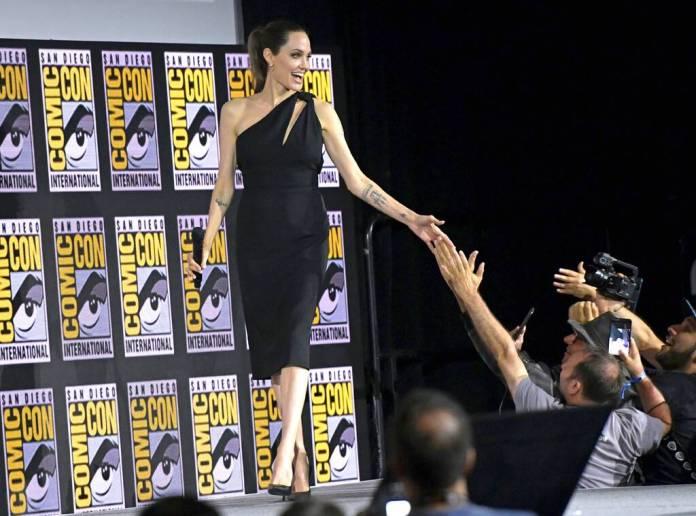 Angelina Jolie, Comic-Con 2019