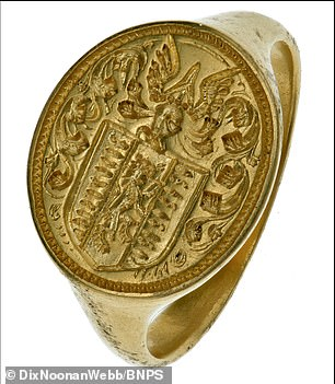 The Colman seal ring is an excellent example of a high status ring of the period of which there are only a very limited number surviving in this condition