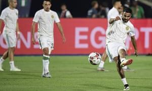 Algeria's Riyad Mahrez