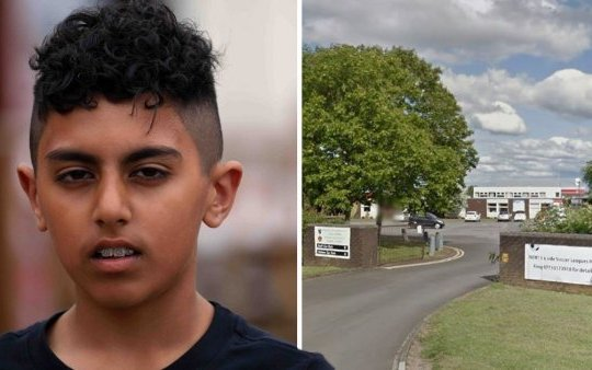 "Picture 389583111 18/07/2019 at 08:42 Owner : email_pictures_at_ukmetro_images A 12-year-old was barred from a leavers assembly due to his ""extreme"" haircut. Ponteland Community Middle School pupil Arun Purba had hoped his new haircut would help him look sharp for his school prom but following a mix-up with the barber he was left with a shorter crop than expected - which landed him in hot water. As a result he was told he could not attend a special leavers assembly - which his dad Jasper says left him feeling victimised. Jasper Purba with his son Arun who attends Ponteland middle and was excluded for the last few days because his hair was cut to short"