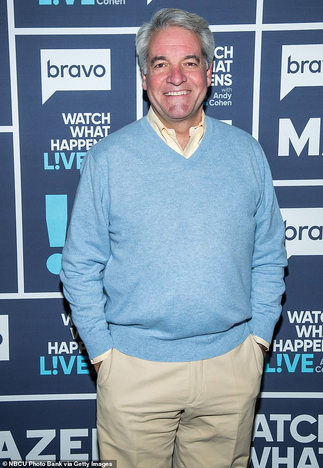 Pay off: Andy King, 57, who gained infamy for offering to perform oral sex to keep the Fyre Festival running, was announced to star in his own reality series on Wednesday; pictured in February