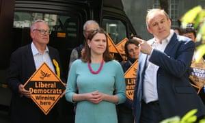 Liberal Democrat deputy leader Jo Swinson