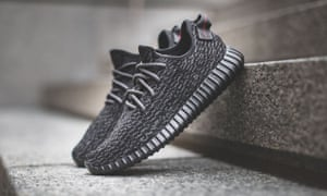 Adidas Yeezy Boost 350 trainers from the Kanye West range: Miles Nadal now owns 15 pairs of these.