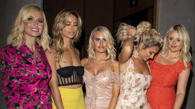 Amy Hart, Emily Atack Ferne McCann, Danielle Armstrong and Billie Faiers