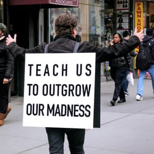 Teach Us to Outgrow Our Madness, 2014, by Alfredo Jaar.