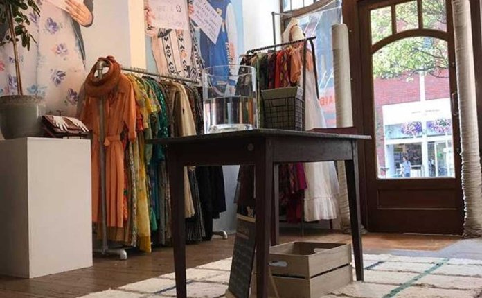 Traid opens pop-up within Anthropologie