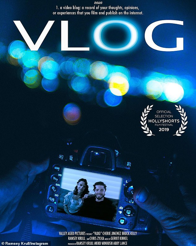 Focusing on his career: Since he's in Canada, Zylka missed the Hollyshorts Film Festival premiere of Ramsey Krull's 10-minute directorial debut Vlog, in which he plays a mystery role