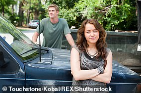 Young love:Miley and Liam first met on the set of the movie The Last Song (pictured in 2010)