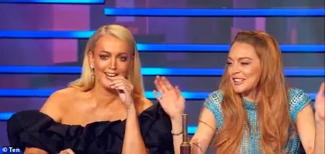 'God, imagine if it was Kyle!' Jackie 'O' Henderson (left) said, referring to her radio co-host Kyle Sandilands
