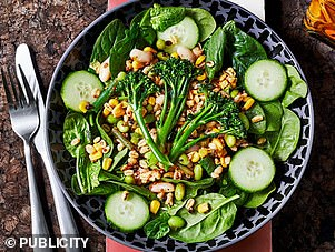Rob Hobson suggests theGrains 'n Greens Salad from Nando's if you are vegetarian