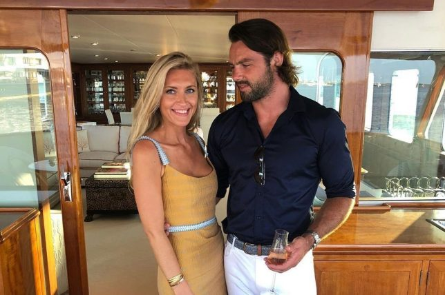 Ben Foden and Jackie Belanoff Smith