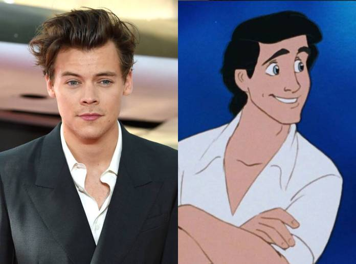 Harry Styles, Prince Eric, The Little Mermaid Cast
