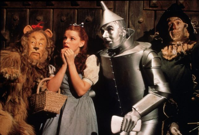 A scene from The Wizard Of Oz