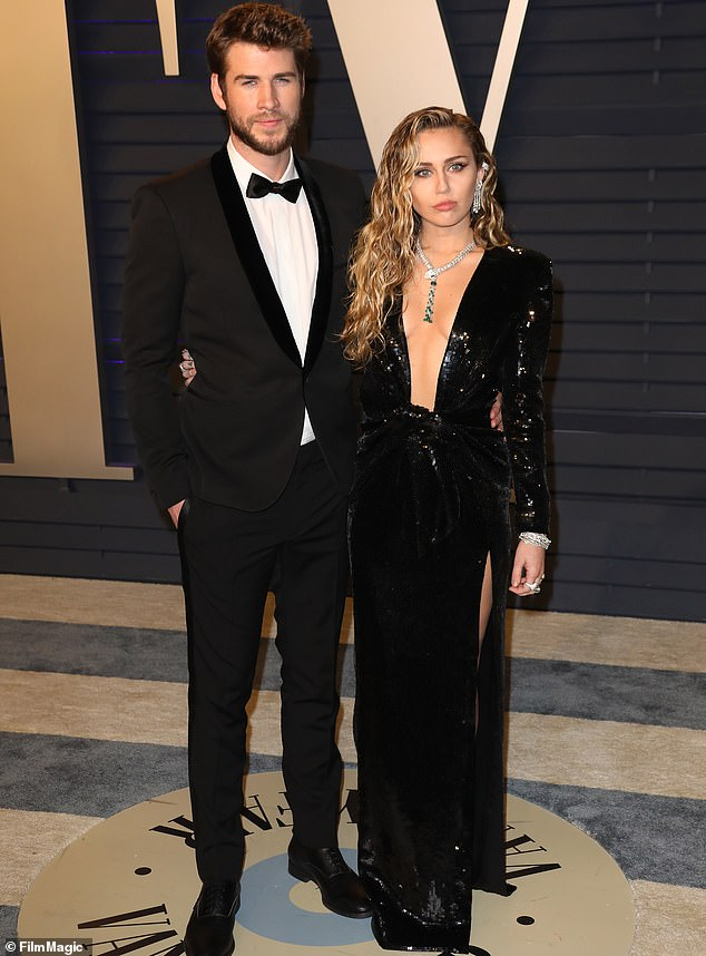 The truth is out: Miley Cyrus has taken to Twitter to clear the air about her split from husband Liam Hemsworth; seen in February