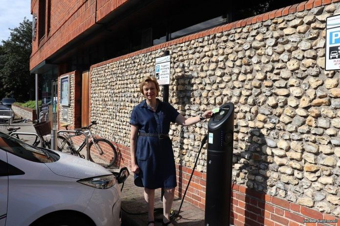 New electric charging points Chichester