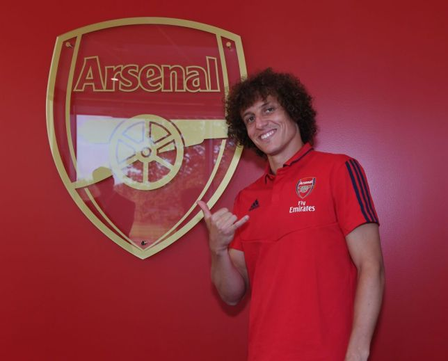 Arsenal signed David Luiz from Chelsea on deadline day