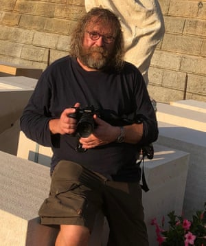 Photojournalist and local Eugen Kukla. 'The pub crawls have been going on for 15 years, but it's got worse'.