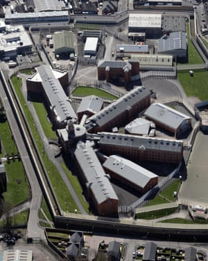 Panopticon hangover … the K-Block design of HMP Wakefield.